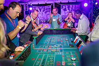 Occidental College alumni meet again and celebrate at the Winning Hand Casino Celebration & Dance during Alumni Reunion Weekend, June 11, 2016.<br /> (Photo by Don Milici, Freelance Photographer)