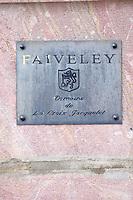 domaine de la croix jacquelet faiveley mercurey burgundy france