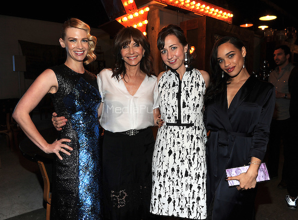 LOS ANGELES - FEBRUARY 24: January Jones, Mary Steenburgen, Kristen Schaal, and Cleo Coleman at an exclusive screening of the premiere episode of FOX's 'The Last Man on Earth' at Big Daddy's Antique Shop on February 24, 2015 in Los Angeles, California. Credit: PGFM/MediaPunch