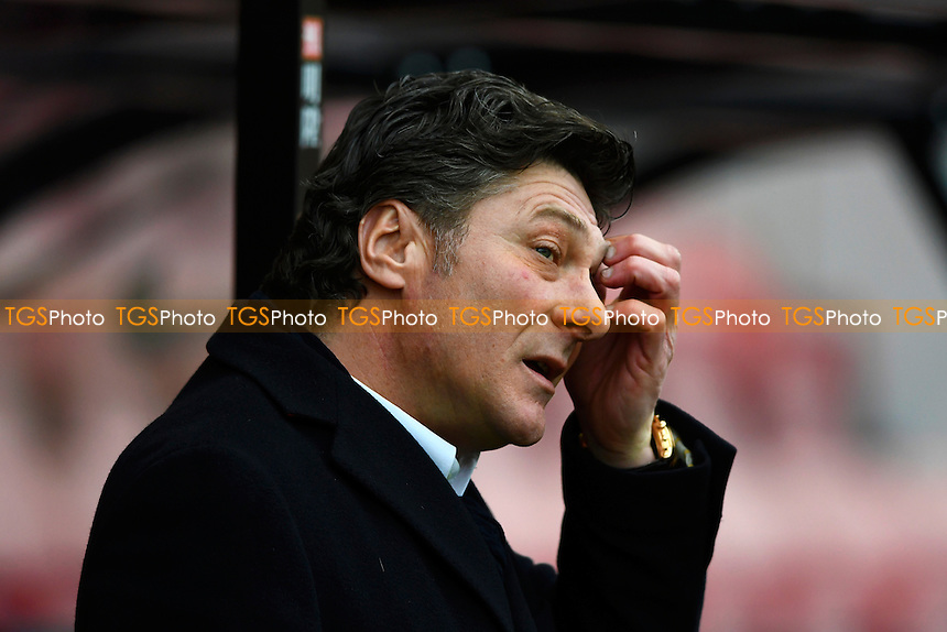 Watford Manager Walter Mazzarri during AFC Bournemouth vs Watford, Premier League Football at the Vitality Stadium on 21st January 2017