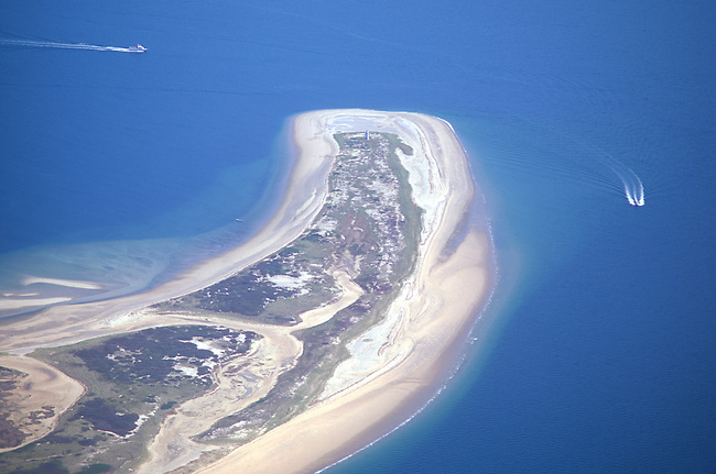 Aerial, Provincetown, Cape Cod, Atlantic Ocean, Massachsetts