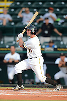 Bradenton Marauders second baseman Dam Gamache (10) during a game against the Lakeland Flying Tigers July 22, 2013 at McKechnie Field in Bradenton, Florida.  Bradenton defeated Lakeland 9-5.  (Mike Janes/Four Seam Images)