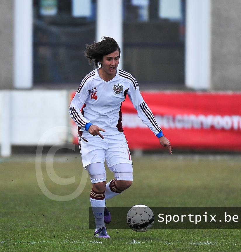 Switzerland U19 - Russia U19 : Nasiba Gasanova.foto DAVID CATRY / Nikonpro.be