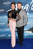 Katya and Neil Jones<br /> at the Cirque du Soleil &quot;Amaluna&quot; 1st night, Royal Albert Hall, Knightsbridge, London.<br /> <br /> <br /> &copy;Ash Knotek  D3218  12/01/2017