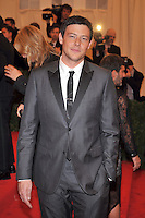 Cory Monteith at the 'Schiaparelli And Prada: Impossible Conversations' Costume Institute Gala at the Metropolitan Museum of Art on May 7, 2012 in New York City. © mpi03/MediaPunch Inc.