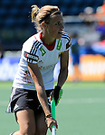 The Hague, Netherlands, June 13: Katharina Otte #13 of Germany looks to pass during the field hockey placement match (Women - Place 7th/8th) between Korea and Germany on June 13, 2014 during the World Cup 2014 at Kyocera Stadium in The Hague, Netherlands. Final score 4-2 (2-0)  (Photo by Dirk Markgraf / www.265-images.com) *** Local caption ***
