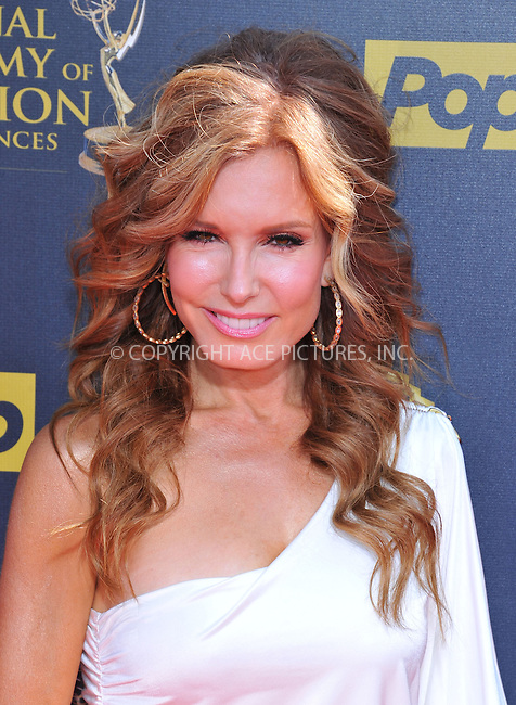 WWW.ACEPIXS.COM<br /> <br /> April 26 2015, LA<br /> <br /> Tracey Bregman arriving at The 42nd Annual Daytime Emmy Awards at Warner Bros. Studios on April 26, 2015 in Burbank, California.<br /> <br /> By Line: Peter West/ACE Pictures<br /> <br /> <br /> ACE Pictures, Inc.<br /> tel: 646 769 0430<br /> Email: info@acepixs.com<br /> www.acepixs.com
