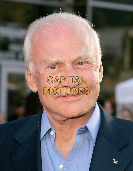 BUZZ ALDRIN.The World Premiere of Ladder 49 held at The El Capitan Theatre in Hollywood, California.September 20, 2004.headshot, portrait, astronaut.www.capitalpictures.com.sales@capitalpictures.com.Copyright Debbie VanStory
