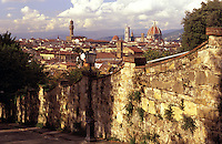 Italy,Florence. View of the city