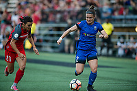 Seattle, WA - Saturday, July 1, 2017:  Christine Nairn during a regular season National Women's Soccer League (NWSL) match between the Seattle Reign FC and the Portland Thorns FC at Memorial Stadium.
