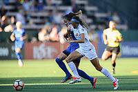 Seattle, WA - Saturday June 24, 2017:  during a regular season National Women's Soccer League (NWSL) match between the Seattle Reign FC and FC Kansas City at Memorial Stadium.