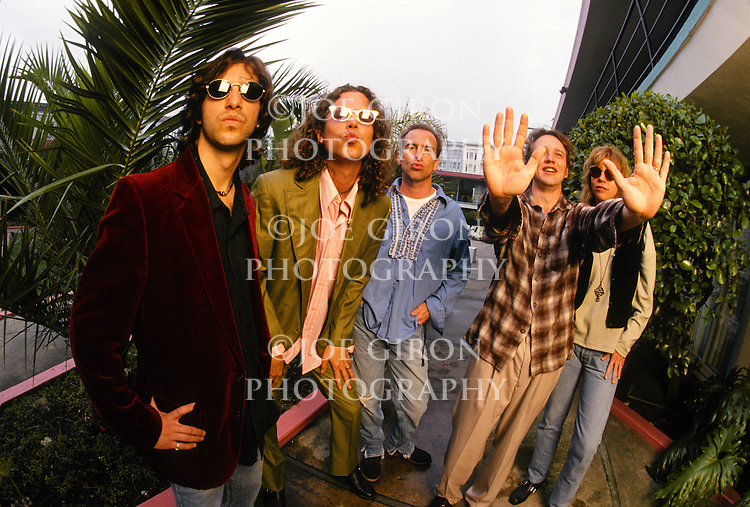 Various portrait sessions of the rock band, The Jayhawks.