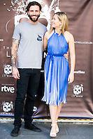 "Matt Horan and Kimberley Tell during the presentation of the film ""La Mina"" at Cines Renoir Plaza España in Madrid. July 15. 2016. (ALTERPHOTOS/Borja B.Hojas) /NORTEPHOTO.COM"