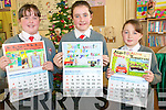 Road safety Calendar : Three pupils from Dromcloug NS, Listowel who had their entries into the Road Safety Calendar acceptred and puplished in the 2011 calendar, Chloe Galvin, Irremore, Aisling Foran, Irremore & Aoife Hennessy, Rathea.