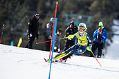 17th March 2018, Àvet Slope, Soldeu, Andorra; FIS Alpine Ski European Cup, Slalom Ladies Finals; 2 LIVK Klara from SLO during the Giant Slalom Final