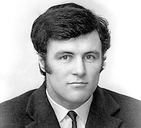 Willy Oakes, rugby player, Instonians, Belfast, N Ireland, Irish International trialist, many years later president, Instonians Rugby Football Club, 197111290501b<br /> <br /> Copyright Image from Victor Patterson, 54 Dorchester Park, Belfast, UK, BT9 6RJ<br /> <br /> t: +44 28 90661296<br /> m: +44 7802 353836<br /> vm: +44 20 88167153<br /> e1: victorpatterson@me.com<br /> e2: victorpatterson@gmail.com<br /> <br /> For my Terms and Conditions of Use go to www.victorpatterson.com
