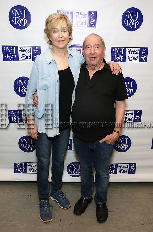 Jill Eikenberry and Michael Tucker attend the Meet and Greet for the New Jersey Repertory Company's production of 'Fern Hill' at Theatre Row Studios on July 24, 2018 in New York City