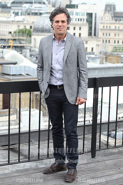 Mark Ruffalo attend a photocall for 'Begin Again', London. 02/07/2014 Picture by: Alexandra Glen / Featureflash