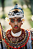 Amandari Resort, Bali: Indonesian costumed boy