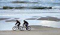 Nederland - Camperduin - 2019 .  Fietsen in Camperduin aan Zee. Foto Berlinda van Dam / Hollandse Hoogte
