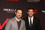 Kurt Yaeger and As The World Turns James Wolk at Premier of Tell Me A Story as he stars in the show - This is no fairy tale at Metrograph, NYC on October 23, 2018 which is a CBS - all Access original series - premieres on Halloween  (Photo by Sue Coflin/Max Photos)