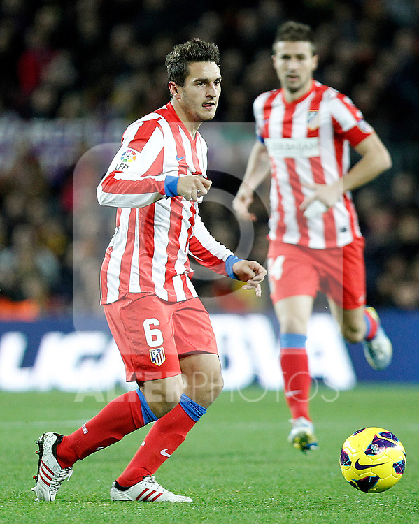 Atletico de Madrid's Koke during La Liga match.December 16,2012. (ALTERPHOTOS/Acero)