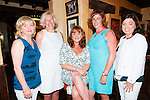 Birthday Girl: Triona Ambrose, Ballybunion & Newcastlewest, centre  celebrating her wirthday with friends Eileen Sheehan, Siobhan Noonan, Marie Noonan & Collette O'Connor in McMunn's Bar & Restaurant, Ballybunion on Friday night last.
