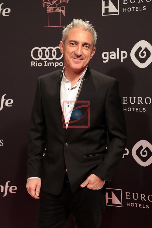63 Premios Ondas.<br /> Photocall-Gala entrega de Premios.<br /> Jon Sistiaga.