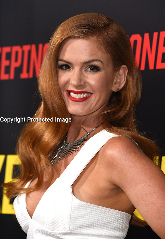 Isla Fisher @ the premiere of 'Keeping Up With The Joneses' held @ the Fox studios backlot. October 8, 2016 , Los Angeles, USA. # PREMIERE DU FILM 'KEEPING UP WITH THE JONESES'