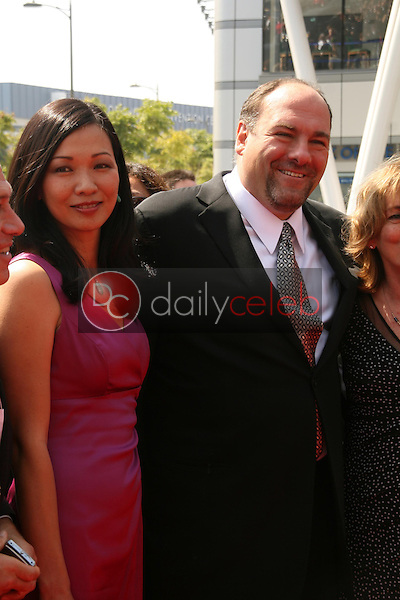 James Gandolfini<br />At the 60th Primetime Creative Arts Emmy Awards Red Carpet. Nokia Live Theater, Los Angeles, CA. 09-13-08<br />Dave Edwards/DailyCeleb.com 818-249-4998