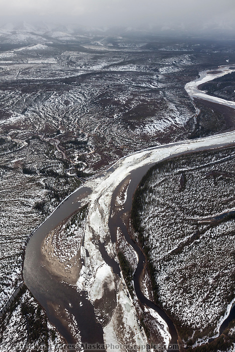 Breakup along the Kobuk River in Alaska's Arctic.