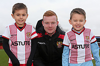 Stevenage mascots during Stevenage vs Reading, Emirates FA Cup Football at the Lamex Stadium on 6th January 2018