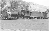 Fireman's-side view of D&amp;RGW #361 in Cimarron, CO.<br /> D&amp;RGW  Cimarron, CO  Taken by Maxwell, John W. - 6/6/1940