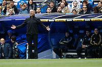 29.04.2012 SPAIN -  La Liga matchday 36th  match played between Real Madrid CF vs Sevilla Futbol Club (3-0) at Santiago Bernabeu stadium. The picture show Jose Mourinho  coach of Real Madrid