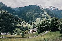 Up de Col du Pré<br /> <br /> Stage 6: Frontenex > La Rosière Espace San Bernardo (110km)<br /> 70th Critérium du Dauphiné 2018 (2.UWT)