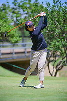 Moriya Jutanugarn (THA) watches her tee shot on 2 during round 4 of  the Volunteers of America Texas Shootout Presented by JTBC, at the Las Colinas Country Club in Irving, Texas, USA. 4/30/2017.<br /> Picture: Golffile | Ken Murray<br /> <br /> <br /> All photo usage must carry mandatory copyright credit (&copy; Golffile | Ken Murray)