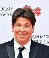Michael McIntyre<br /> at Virgin Media British Academy Television Awards 2019 annual awards ceremony to celebrate the best of British TV, at Royal Festival Hall, London, England on May 12, 2019.<br /> CAP/JOR<br /> &copy;JOR/Capital Pictures