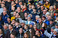 Leeds United fans sing as their side takes to the field<br /> <br /> Photographer Alex Dodd/CameraSport<br /> <br /> The EFL Sky Bet Championship - Leeds United v Bristol City - Saturday 24th November 2018 - Elland Road - Leeds<br /> <br /> World Copyright &copy; 2018 CameraSport. All rights reserved. 43 Linden Ave. Countesthorpe. Leicester. England. LE8 5PG - Tel: +44 (0) 116 277 4147 - admin@camerasport.com - www.camerasport.com