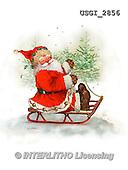 GIORDANO, CHRISTMAS SANTA, SNOWMAN, WEIHNACHTSMÄNNER, SCHNEEMÄNNER, PAPÁ NOEL, MUÑECOS DE NIEVE, paintings+++++,USGI2856,#X# ,#161#