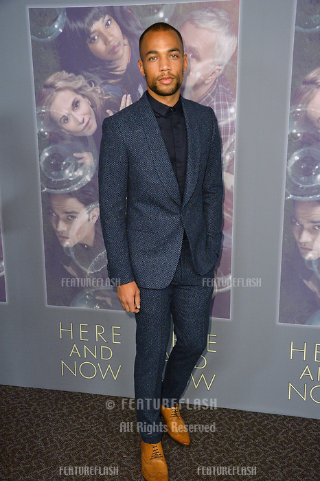 Kendrick Sampson at the premiere for HBO's &quot;Here and Now&quot; at The Directors Guild of America, Los Angeles, USA 05 Feb. 2018<br /> Picture: Paul Smith/Featureflash/SilverHub 0208 004 5359 sales@silverhubmedia.com