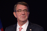 Washington, DC - November 18, 2015: U.S. Secretary of Defense Ashton B. Carter announces the 'Force of the Future' initiative before an audience at the George Washington University's Jack Morton Auditorium in the District of Columbia. November 18, 2015  (Photo by Don Baxter/Media Images International)