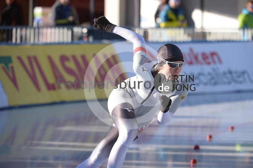 SPEED SKATING: COLLALBO: Arena Ritten, 11-01-2019, ISU European Speed Skating Championships, Roxane Dufter (GER), ©photo Martin de Jong