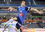 handball wordl cup match between France vs Argentina. kentin mahe . 2015/01/26. Doha. Qatar. Alberto de Isidro.Photocall 3000