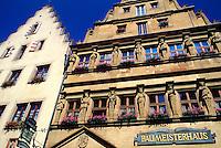 Marktplatz, Rothenburg ob der Tauber (medieval town), Bavaria, Germany