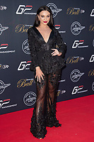 Rosie Williams at the Grand Prix Ball at the Hurlingham Club, London on July 4th 2018<br /> CAP/ROS<br /> &copy;ROS/Capital Pictures
