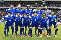 San Antonio, TX - Wednesday, April 15, 2015: The U.S. Men's National soccer team goes up against Mexico in an international friendly game at the Alamodome.