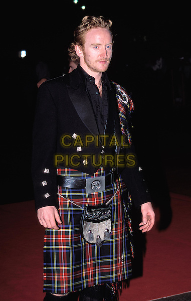 TONY CURRAN.The League Of Extraordinary Gentlemen premiere, Leicester Square.scottish traditional dress, kilt, sporan.www.capitalpictures.com.sales@capitalpictures.com.© Capital Pictures.