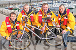 Calling all cyclists for a RNLI fund-raising cycle on Saturday May 12th. .L-R Terry Sheehy, Kevin Honeyman, Mike O'Connor and John McGibney.