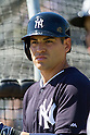 Jacoby Ellsbury (Yankees),<br /> FEBRUARY 20, 2014 - MLB : Jacoby Ellsbury of the New York Yankees during the the first day of the Yankees spring training baseball camp at George M. Steinbrenner Field in Tampa, Florida, United States.<br /> (Photo by Thomas Anderson/AFLO) (JAPANESE NEWSPAPER OUT)