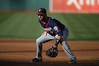 OAKLAND, CA - JULY 18:  Joe Mauer #7 of the Minnesota Twins plays defense at first base against the Oakland Athletics during the game at O.co Coliseum on Saturday, July 18, 2015 in Oakland, California. Photo by Brad Mangin